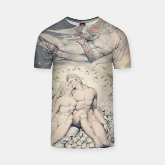 Miniatur Fashion items of William Blake Watercolour- Paradise Lost T-shirt, Live Heroes