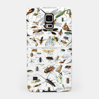 Fashion and of an Illustration Map with Insects, from Larouse Encyclopedia Samsung Case Bild der Miniatur
