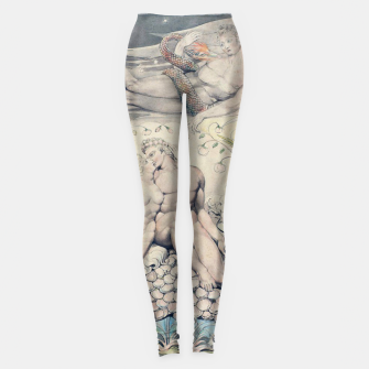 Miniatur Fashion items of William Blake Watercolour- Paradise Lost Leggings, Live Heroes