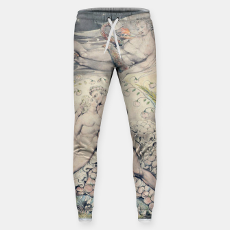 Miniatur Fashion items of William Blake Watercolour- Paradise Lost Sweatpants, Live Heroes