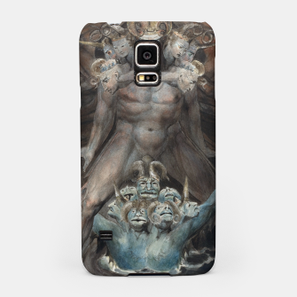 Thumbnail image of Fashion items of William Blake illustration , The Great Red Dragon and the Beast from the Sea Samsung Case, Live Heroes