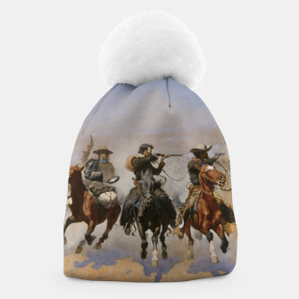 Thumbnail image of Fashion items of Frederic Remington painting - A dash for Timber Beanie, Live Heroes