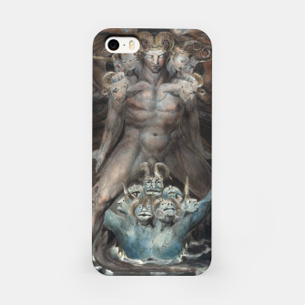 Thumbnail image of Fashion items of William Blake illustration , The Great Red Dragon and the Beast from the Sea iPhone Case, Live Heroes