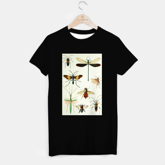 Fashion art of a illustration from a Encyclopedia about Insects T-shirt regular Bild der Miniatur