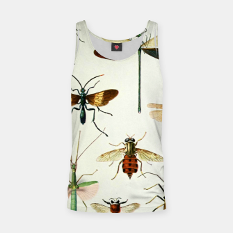 Thumbnail image of Fashion art of a illustration from a Encyclopedia about Insects Tank Top, Live Heroes