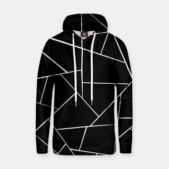 Thumbnail image of Black White Geometric Glam #3 #geo #decor #art Kapuzenpullover, Live Heroes