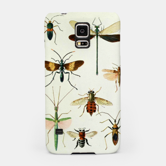 Fashion art of a illustration from a Encyclopedia about Insects Samsung Case Bild der Miniatur