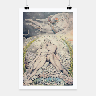 Miniatur Fashion items of William Blake Watercolour- Paradise Lost Poster, Live Heroes