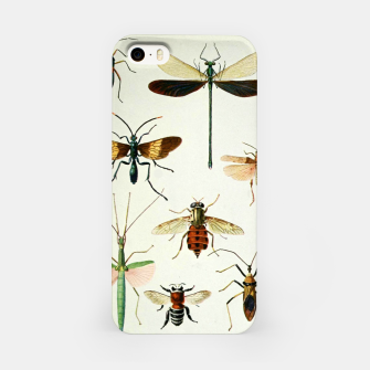 Fashion art of a illustration from a Encyclopedia about Insects iPhone Case Bild der Miniatur