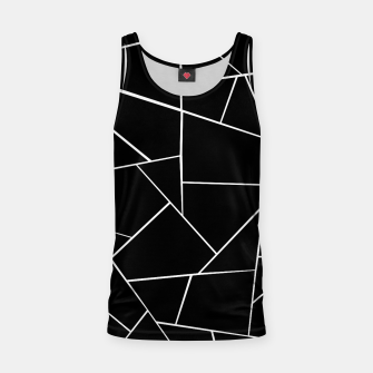 Thumbnail image of Black White Geometric Glam #3 #geo #decor #art Muskelshirt , Live Heroes