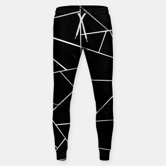 Miniaturka Black White Geometric Glam #3 #geo #decor #art Hosen, Live Heroes