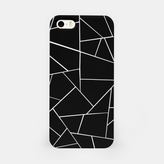 Miniaturka Black White Geometric Glam #3 #geo #decor #art iPhone-Hülle, Live Heroes