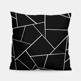 Thumbnail image of Black White Geometric Glam #3 #geo #decor #art Kissen, Live Heroes
