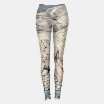 Imagen en miniatura de Fashion items of William Blake Watercolour- Paradise Lost Leggings, Live Heroes