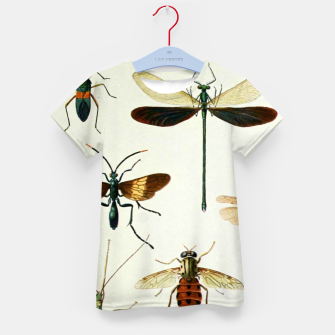 Fashion art of a illustration from a Encyclopedia about Insects Kid's t-shirt Bild der Miniatur