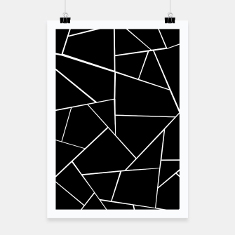 Miniaturka Black White Geometric Glam #3 #geo #decor #art Plakat, Live Heroes