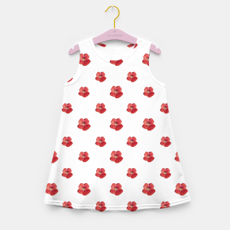 Miniaturka Beauty Flowers Print Pattern Girl's summer dress, Live Heroes