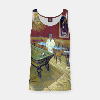 Thumbnail image of Vincent Van Gogh - The Night Cafe Tank Top, Live Heroes