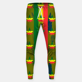 Thumbnail image of olive green  Sweatpants, Live Heroes