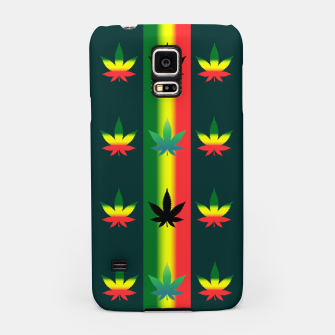 Thumbnail image of blue green tropical Samsung Case, Live Heroes