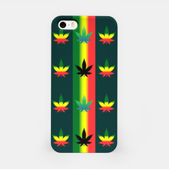 Thumbnail image of blue green tropical iPhone Case, Live Heroes