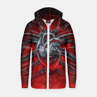 Thumbnail image of Heart Of The Gamer Zip up hoodie, Live Heroes