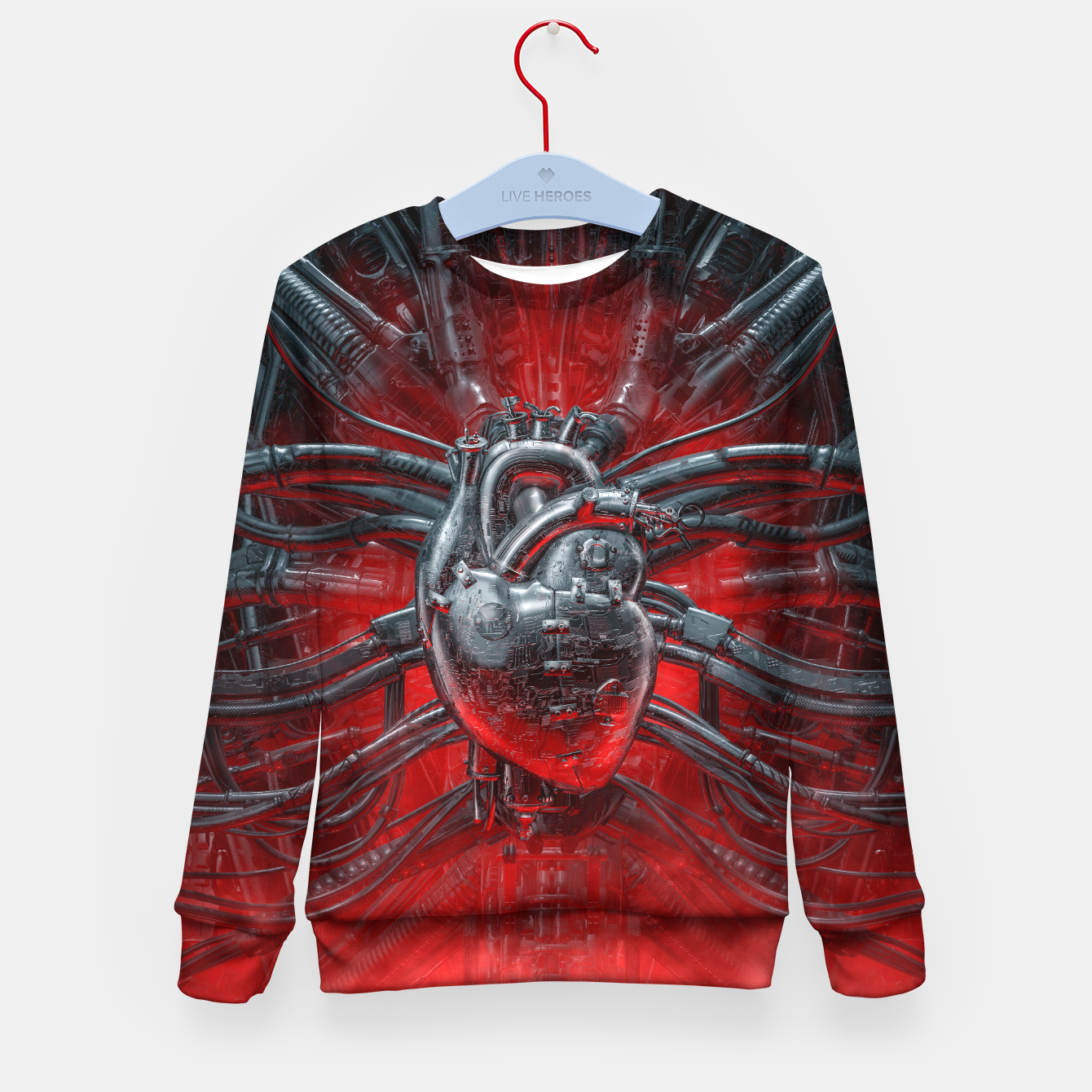 Image of Heart Of The Gamer Kid's sweater - Live Heroes