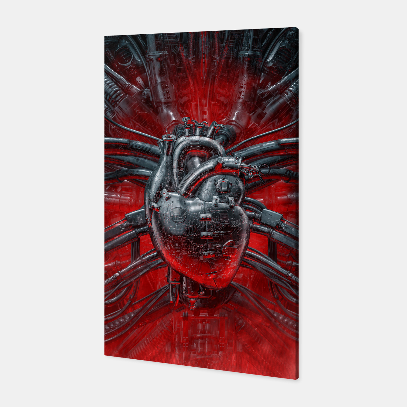 Image of Heart Of The Gamer Canvas - Live Heroes