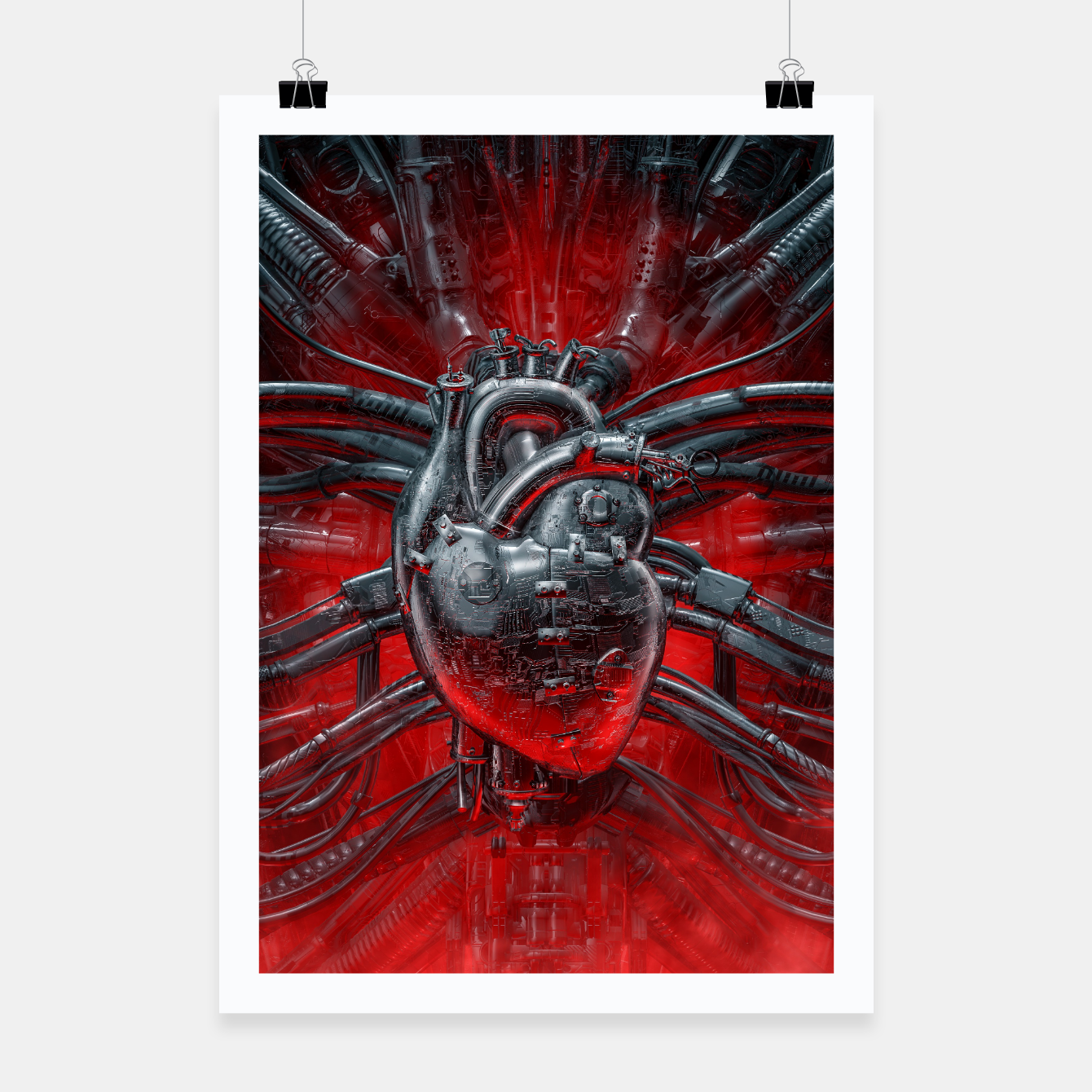 Image of Heart Of The Gamer Poster - Live Heroes