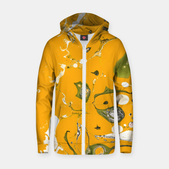Earthy Mess Zip up hoodie thumbnail image