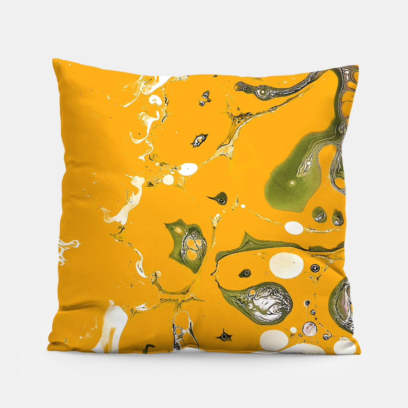Image of Earthy Mess Pillow - Live Heroes