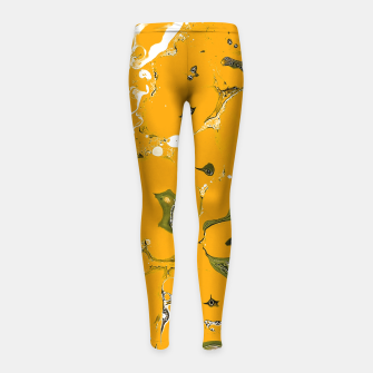 Miniature de image de Earthy Mess Girl's leggings, Live Heroes