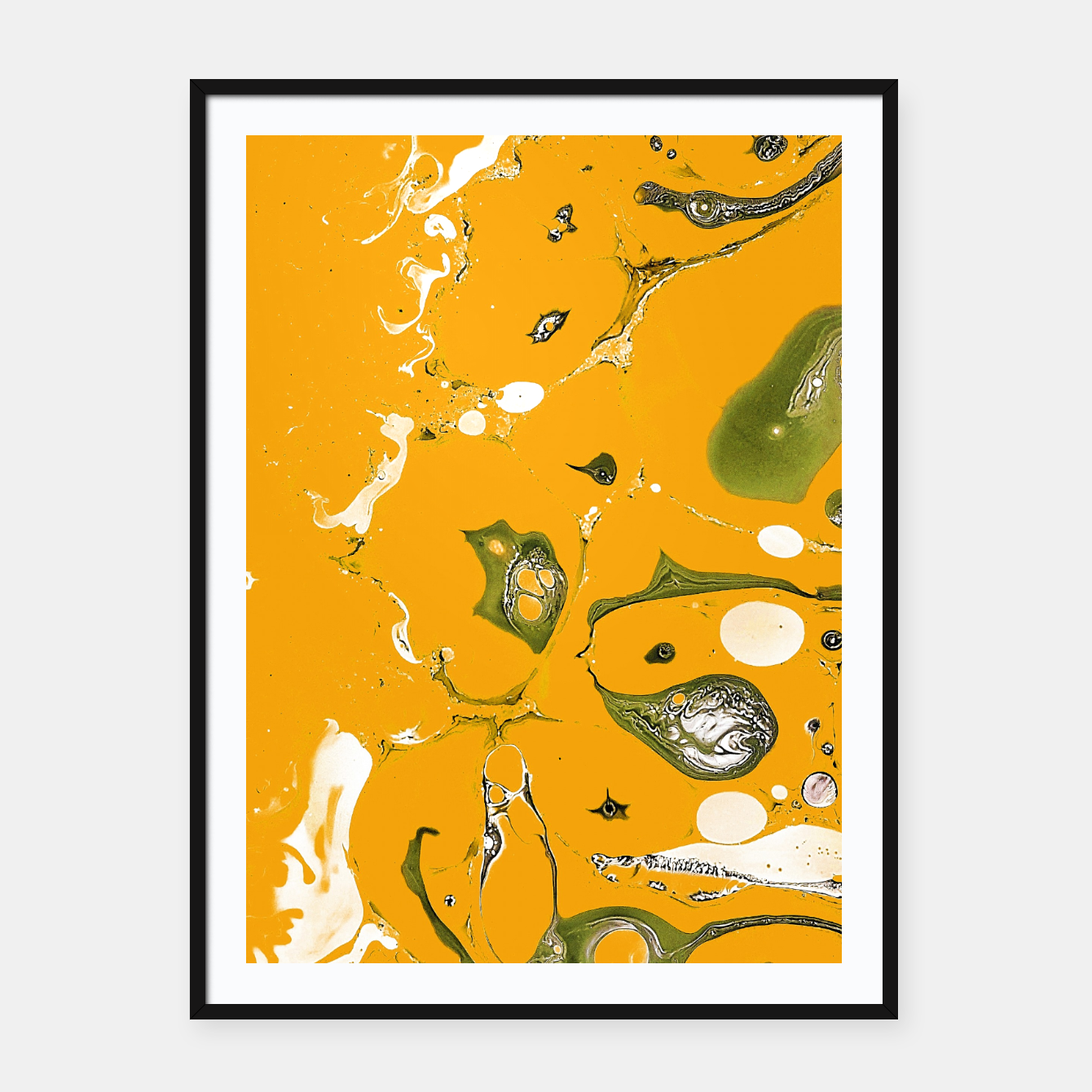 Image of Earthy Mess Framed poster - Live Heroes