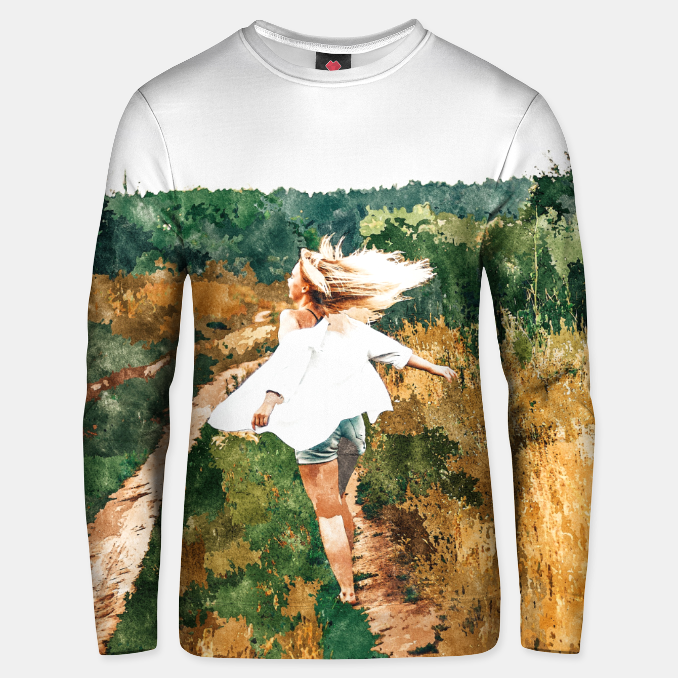 Image of Free Spirit II Unisex sweater - Live Heroes
