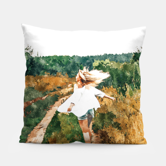 Thumbnail image of Free Spirit II Pillow, Live Heroes