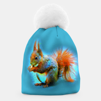 Thumbnail image of Squirrel in modern style Mütze, Live Heroes