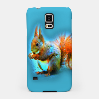 Thumbnail image of Squirrel in modern style Handyhülle für Samsung, Live Heroes