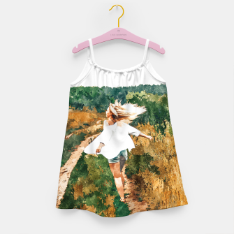 Miniatur Free Spirit II Girl's dress, Live Heroes