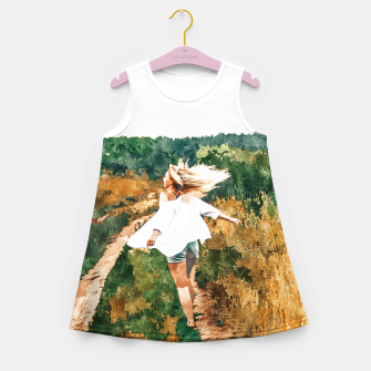 Miniature de image de Free Spirit II Girl's summer dress, Live Heroes