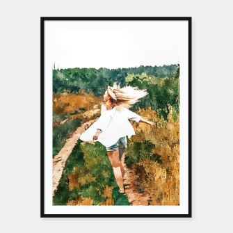 Thumbnail image of Free Spirit II Framed poster, Live Heroes
