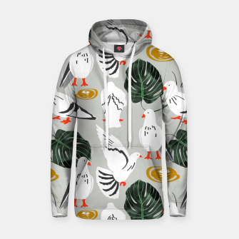 Thumbnail image of White Pigeons Hoodie, Live Heroes