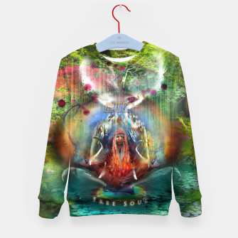 Thumbnail image of Free Soul Kid's sweater, Live Heroes