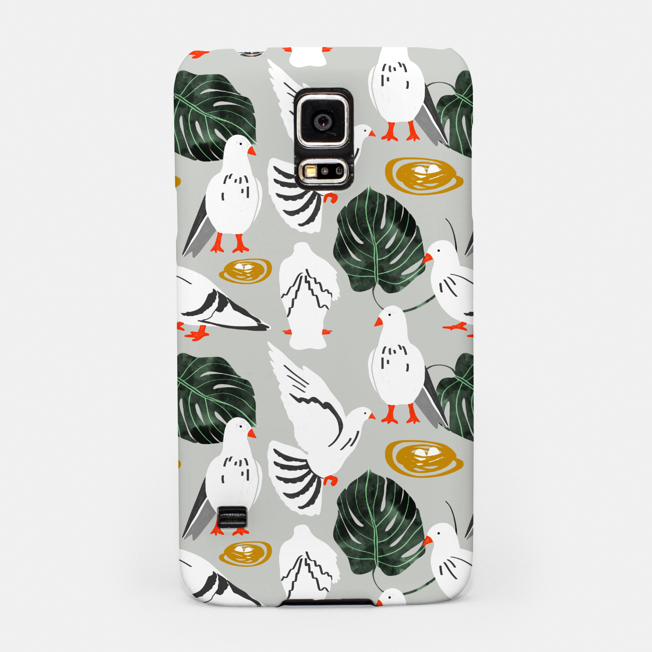 Image of White Pigeons Samsung Case - Live Heroes