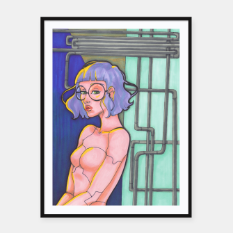 Thumbnail image of Pipe dream Framed poster, Live Heroes
