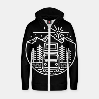 Go Outside Zip up hoodie miniature