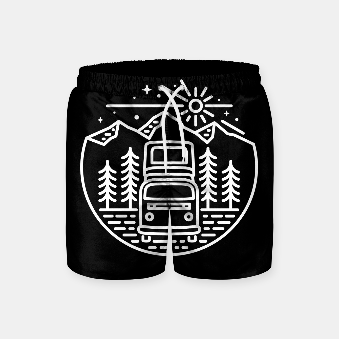 Image de Go Outside Swim Shorts - Live Heroes