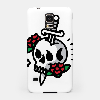 Thumbnail image of Death Flower Tattoo Samsung Case, Live Heroes
