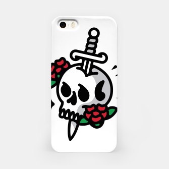 Thumbnail image of Death Flower Tattoo iPhone Case, Live Heroes