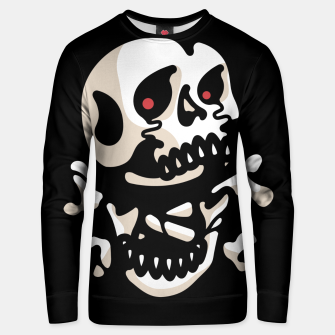Thumbnail image of Crossbones Unisex sweater, Live Heroes