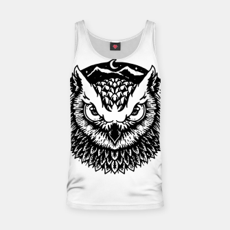 Thumbnail image of Owly Tank Top, Live Heroes